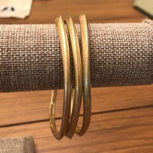 Chloe + Isabel bangle bracelets.